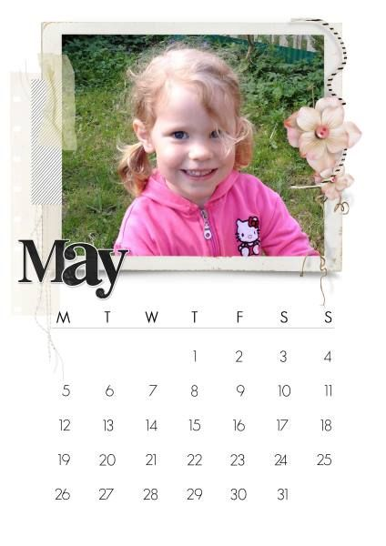 May 2014 - This's from the fabulous Calendar 2014 Bundle by Natali Designs at SBG.