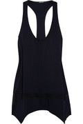 Shop on-sale Kimberly Ovitz Locke ribbed mesh tank. Browse other discount designer tops & more on The Most Fashionable Fashion Outlet, THE OUTNET.COM.
