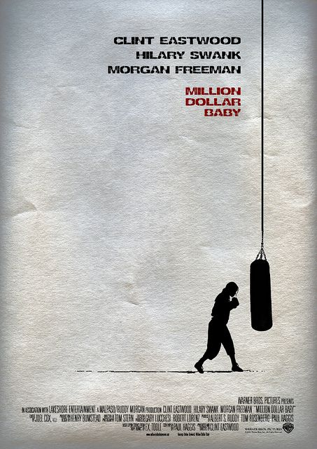 Image result for Million Dollar baby animated poster