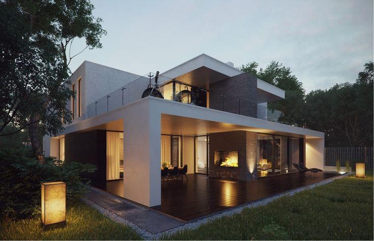 Zu arhitektur auf pinterest haus villas und moderne hausentwürfe