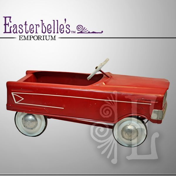 Vintage Murray Pedal Car - AMC Firebird: Hot Red, Murray Pedal, Kids Things, Pedal Cars, Tins Toys, Google Images, Versus, Amc Firebird, Red Hot