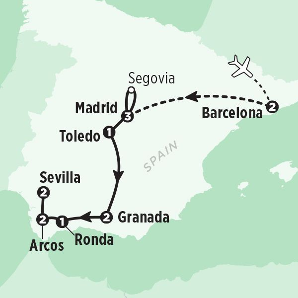 Spain Tour The Best Of In 14 Days Rick Steves 2017 Tours
