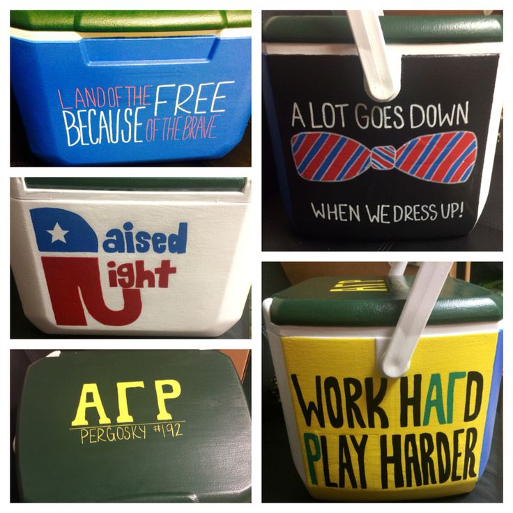 Alpha Gamma Rho Cooler