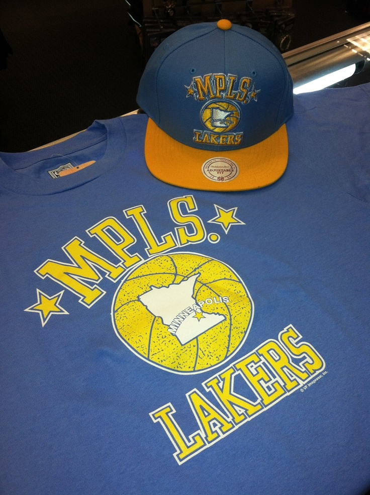 Minneapolis Lakers Hats and Tees