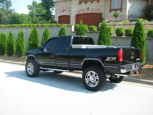 97 black chevy z71 | 1998 Chevy Silverado Z71 Lifted