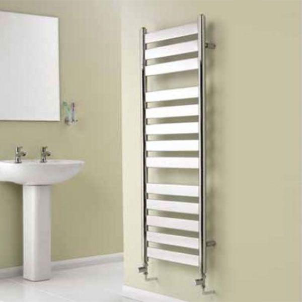 Reina Carpi Flat Panel Heated Towel Rail 800mm H x 300mm W Chrome-0