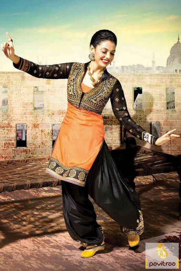 We offer latest fashion beautiful black orange silk designer punjabi patiala salwar kameez online at best Indian price. Shop wedding wear embroidery punjabi suit with free shipping and home delivery in India. #salwarsuit, #salwarkameez, #patialadress, #designerdresses, #weddingwearsalwarsuit, #punjabistylesalwarsuit, #partywearsalwarsuit, #indianweddingdresses More : http://www.pavitraa.in/store/designer-dresses-collection/ Call / WhatsApp : +91-76982-34040  E-mail: info@pavitraa.in