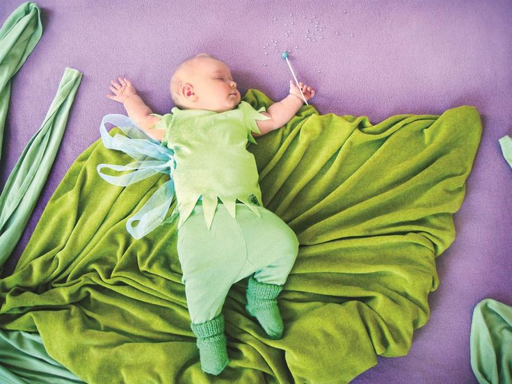Mom turns sleeping baby into fairy-tale star - Slideshows and Picture Stories - TODAY.com