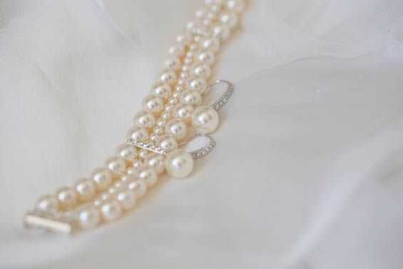 PEARLS!! Always a classic choice.