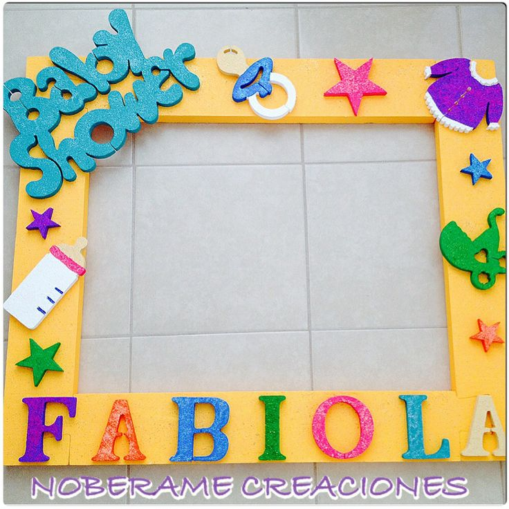 marco para baby shower noberame creaciones pinterest babies babyshower and photo booth
