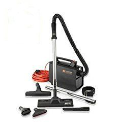 Hoover CH30000 PortaPower Lightweight Commercial Canister Vacuum - great for using around corners, ceilings and windows because of its maneuverability.
