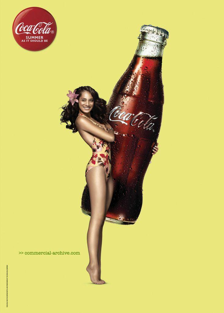 Coca Cola - Pin Up posters - (2007) (New Zealand) print | adland.tv #cocacola