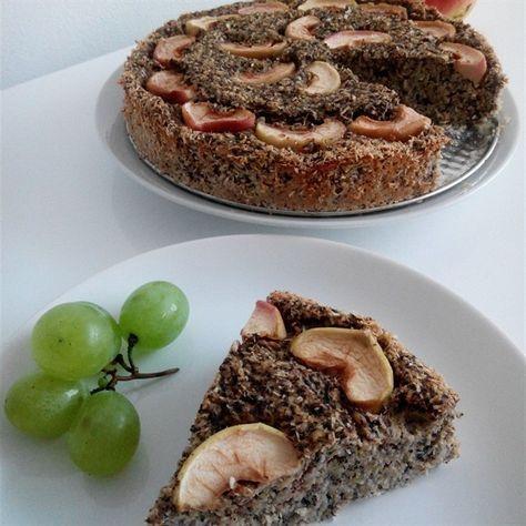 cuketový fitness koláč