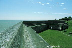 L'Ile d'Oléron, Charente Maritime, Dept 17. Château d'Oléron - la citadelle.