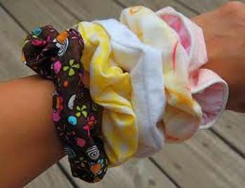 Scrunchies!! The 1980's was big, bright, fun, bold and a little random! For more visit: http://www.chaiacupoflife.com/flashback-to-the-1980s #80s #retro