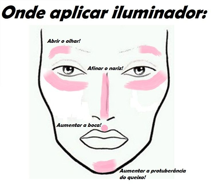 Truque de maquiagem: aplicar iluminador                                                                                                                                                      Mais                                                                                                                                                                                 Mais