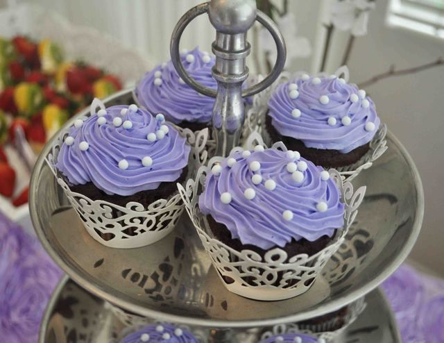 lavender cupcakes | catch my party