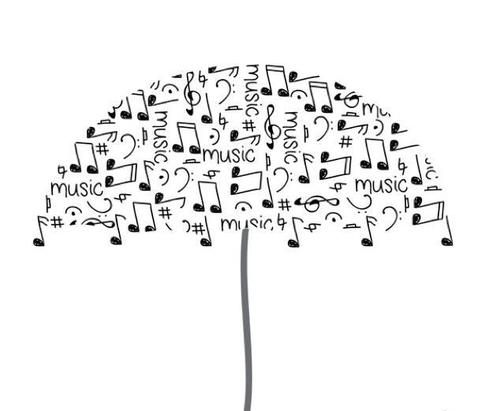 Music protects us from the elements of life.