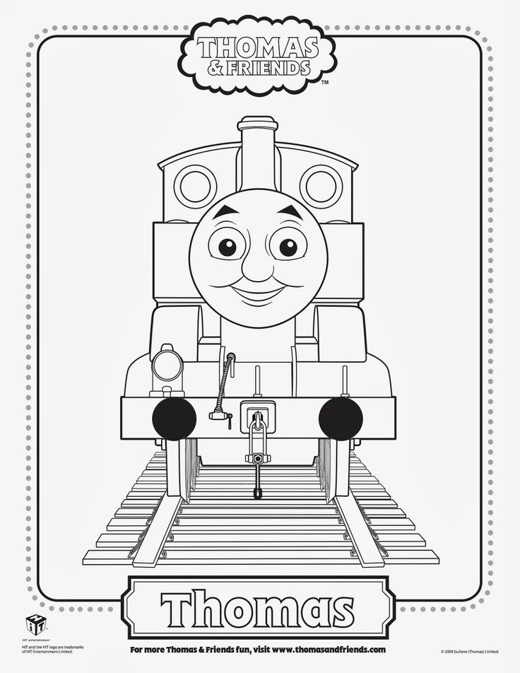 Free Thomas The Tank Engine, Percy and Belle Printables Coloring Pages