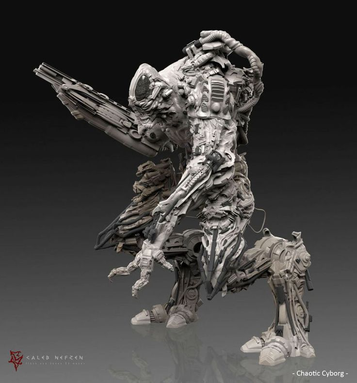 Digital Sculpting by Caleb Nefzen - 3d Digital Art, Art