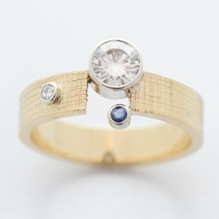 blue by susan west. modern design for the modern bride. www.bluegoldsmiths.com