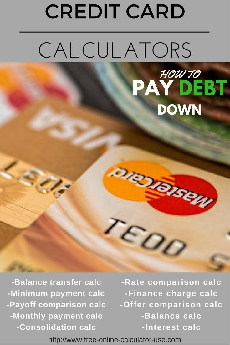 Credit Card Calculators Designed To Help You Save Money Calculator Card Balance And Card Companies