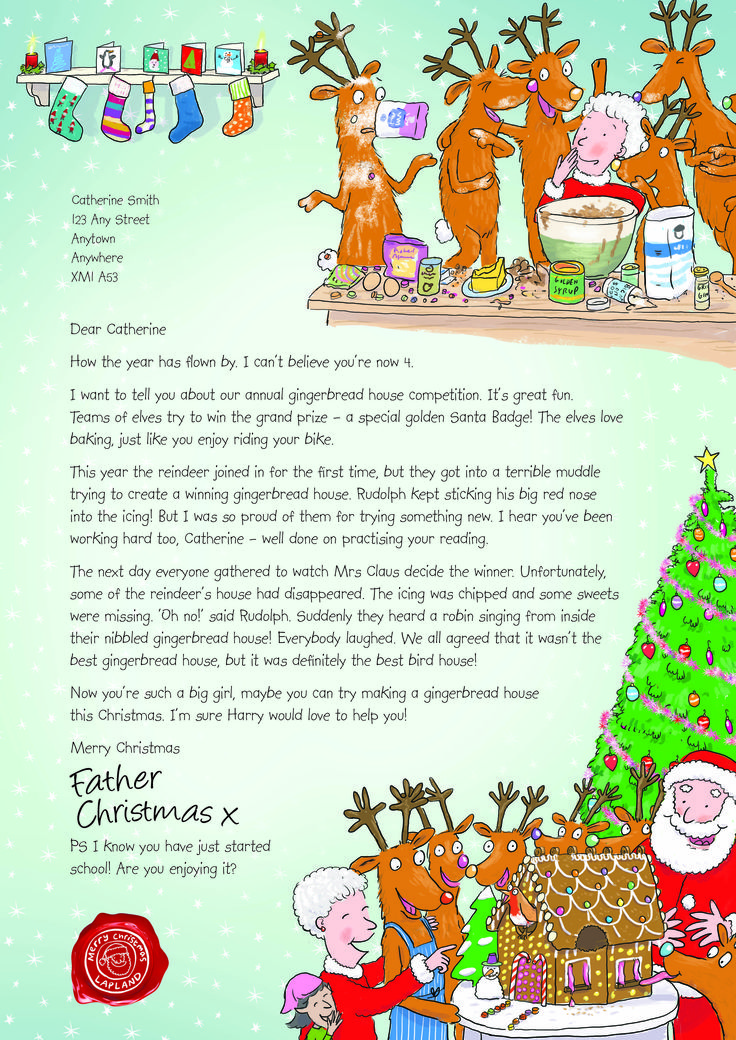The 33 Best Images About NSPCC Letter From Santa On