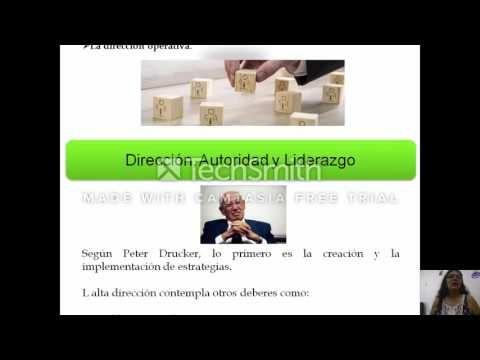 Direccion, Autoridad y Liderazgo - YouTube