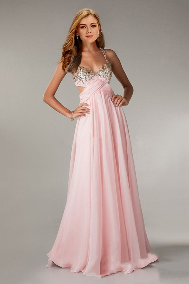 58 best red carpet images on pinterest red carpet evening twist straps back chiffon prom dress ombrellifo Gallery