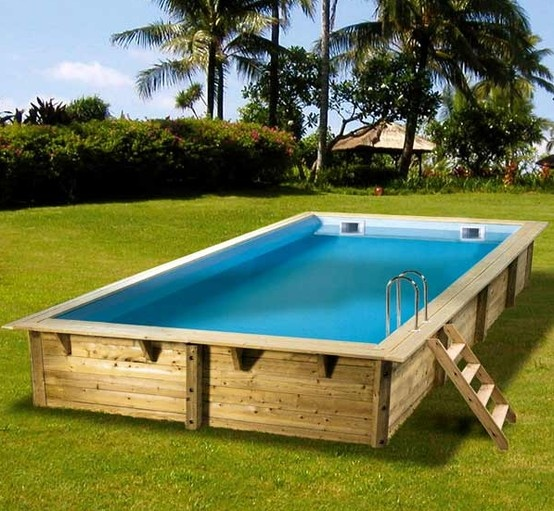 132 best Бассейн для дачи images on Pinterest Swiming pool - piscine hors sol beton aspect bois
