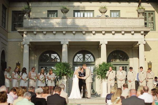 Tulsa Garden Center Wedding. Vintage Spring Wedding Ideas