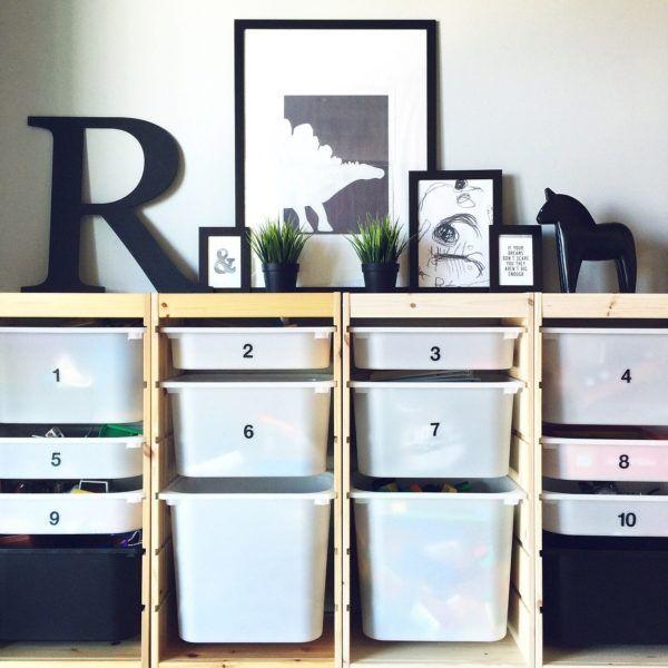 IKEAの人気収納棚☆「トロファスト」を使った素敵なインテリア収納例をご紹介 | folk