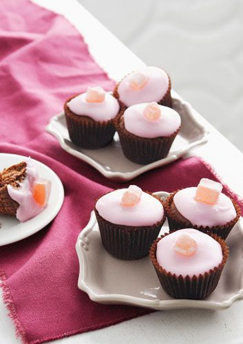 Love those chocolate coated Turkish Delight bars? Make them even more decadent in these cupcakes.
