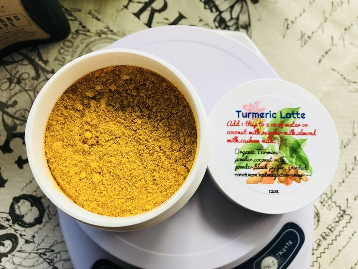 Turmeric Latte Organic Yummy Warm Delicious Great for the tummy and more read below by StantonIsle on Etsy