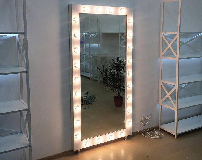 Black White And Pink Polka Dot Hand Painted Globlet Etsy Diy Vanity Mirror Hollywood Vanity Mirror Mirror With Lights Full length mirrors with lights