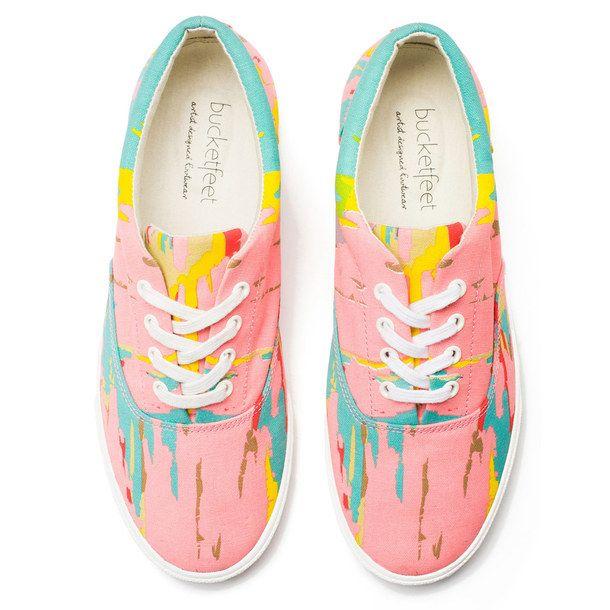 Mesa Sunset Sneaker Women's byKristy Gammil #wearabledesign