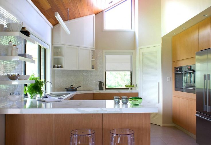 Enviroven™ Tuscan Veneer kitchen designed by MBID – Green Magazine. Green Credentials- NAV has achieved FSC® chain of custody certification for a range of Enviroven™ Veneer products.
