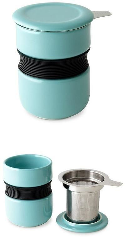 Tea Infusers 177754: Forlife Curve Asian Style Tea Cup With Infuser And Lid 12 Ounces, Turquoise For -> BUY IT NOW ONLY: $37 on eBay!