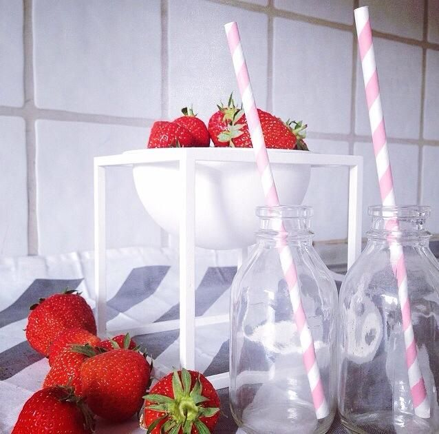 Strawberries - By Lassen <3