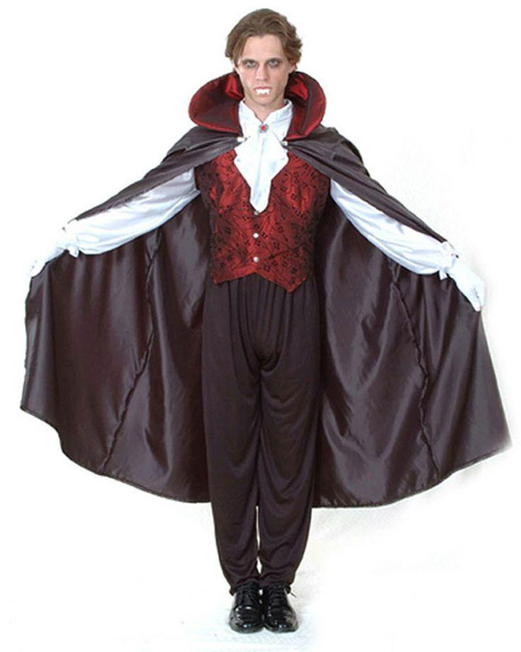 Halloween vampierenkostuum voor mannen : Vegaoo Volwassenen Kostuums