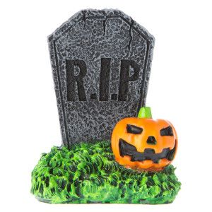 Top Fin® Pet Halloween Gravestone Aquarium Ornament | Ornaments | PetSmart