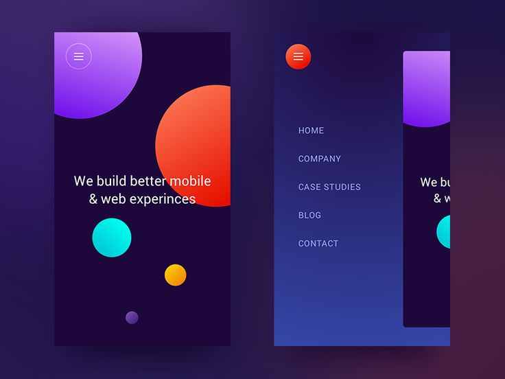 Digital Agency Homepage Mobile by Michael Korwin #Design Popular #Dribbble #shots