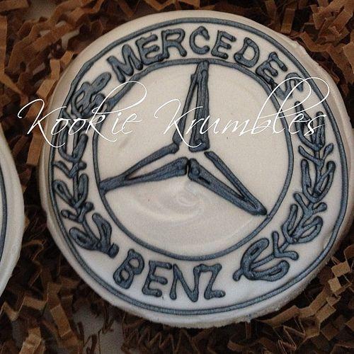 Mercedes Benz logo Cookie