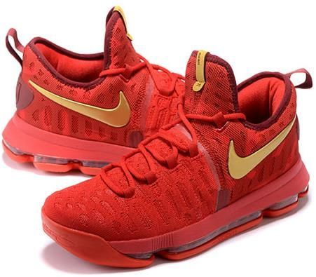 Nike Zoom KD 9 Lmtd EP Mens Basketball shoes China red, cheap KD If you  want to look Nike Zoom KD 9 Lmtd EP Mens Basketball shoes China red, ...