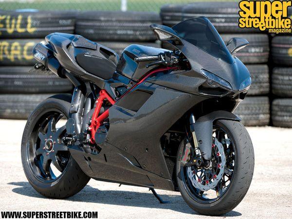 2008 Ducati 1098S - Carbon Crazed | Super Streetbike