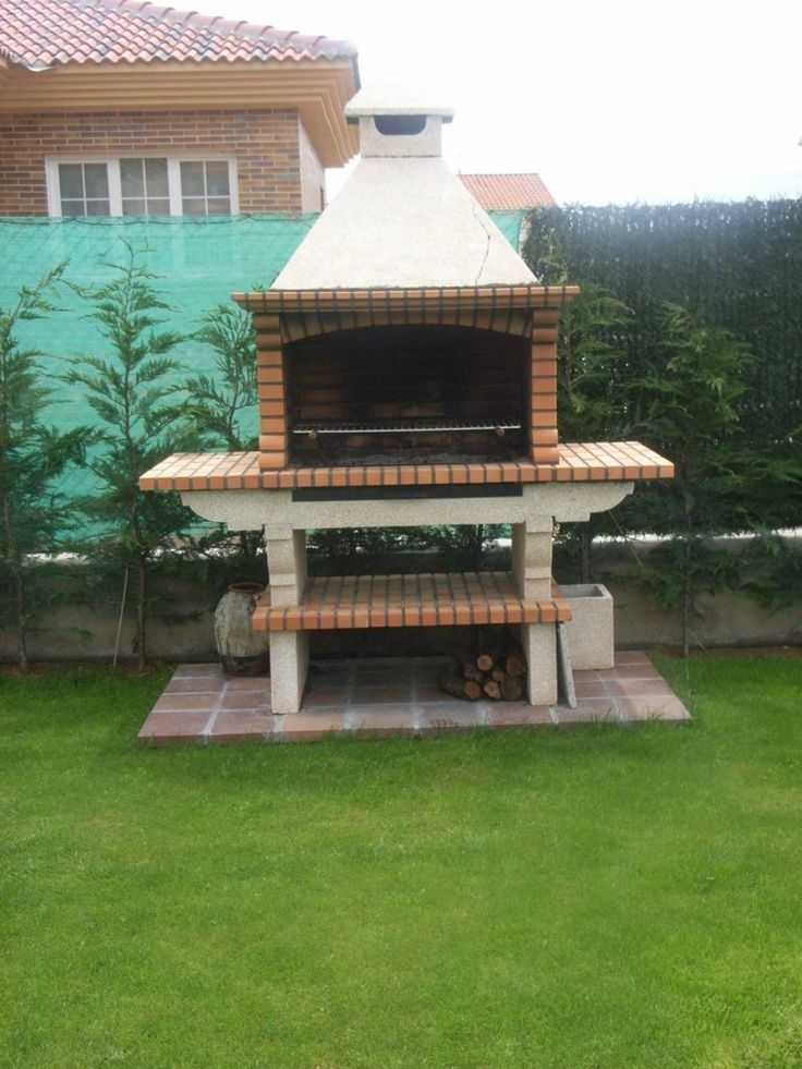 17 mejores ideas sobre asadores de ladrillos en pinterest for Jardines pequenos esquineros