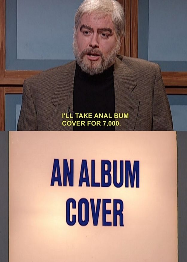 """Buzzfeed Community Post: 10 Iconic Misreadings Of SNL """"Celebrity Jeopardy"""" Categories 