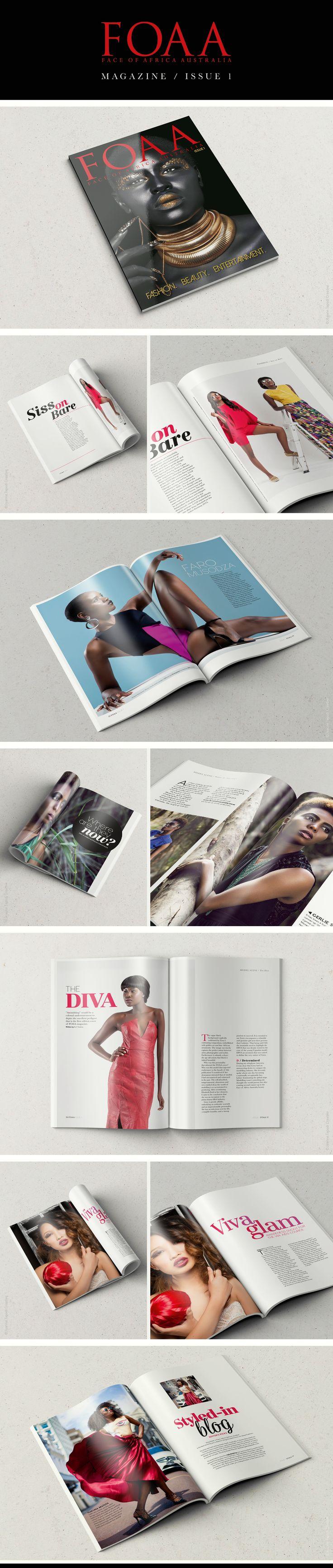FOAA Magazine / editorial design by Joanne Tapodi Creative / magazine / layout / www.joannetapodicreative.com.au #graphicdesign #editorial #magazine #publishing #design