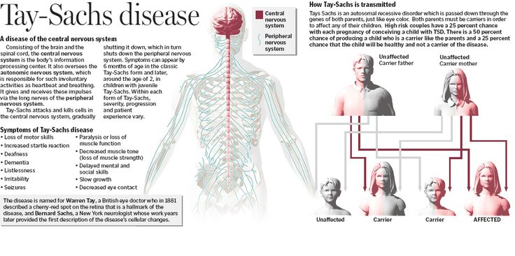 Tay sachs disease in adult think, that