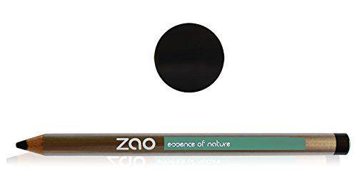 Zao Organic Makeup - Pencil Eyeliner Black - http://essential-organic.com/zao-organic-makeup-pencil-eyeliner-black/